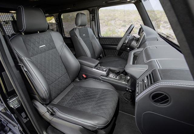 2022 Mercedes-Benz G-Class cabin