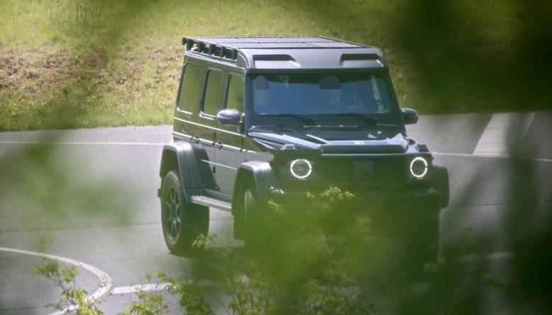 2022 Mercedes-Benz G-Class front