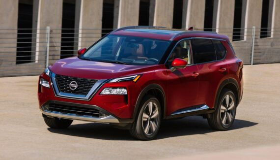 2022 Nissan X-Trail front