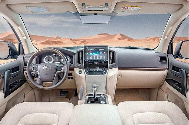 2022 Toyota Land Cruiser cabin