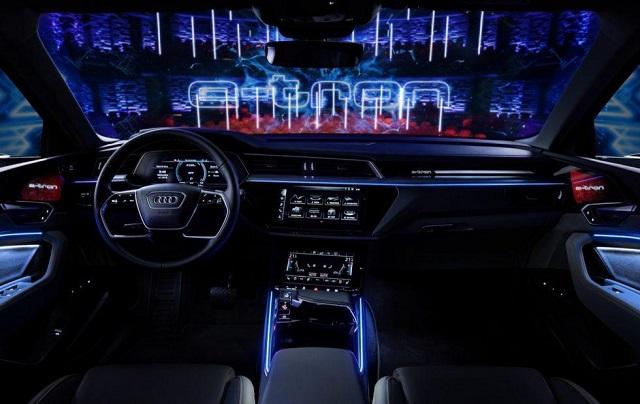 2021 Audi E-Tron S cabin