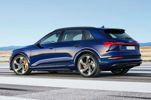 2021 Audi E-Tron S side