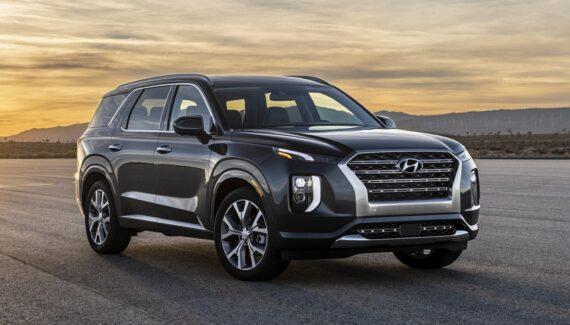 2021 Hyundai Palisade Calligraphy front