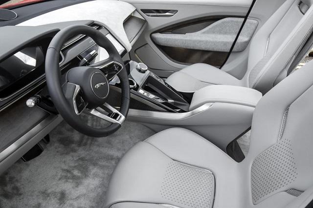 2021 Jaguar J-Pace cabin