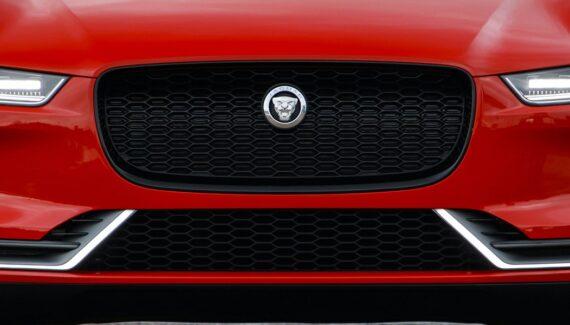 2021 Jaguar J-Pace front