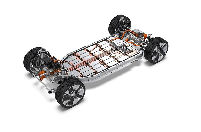 2021 Jaguar J-Pace platform