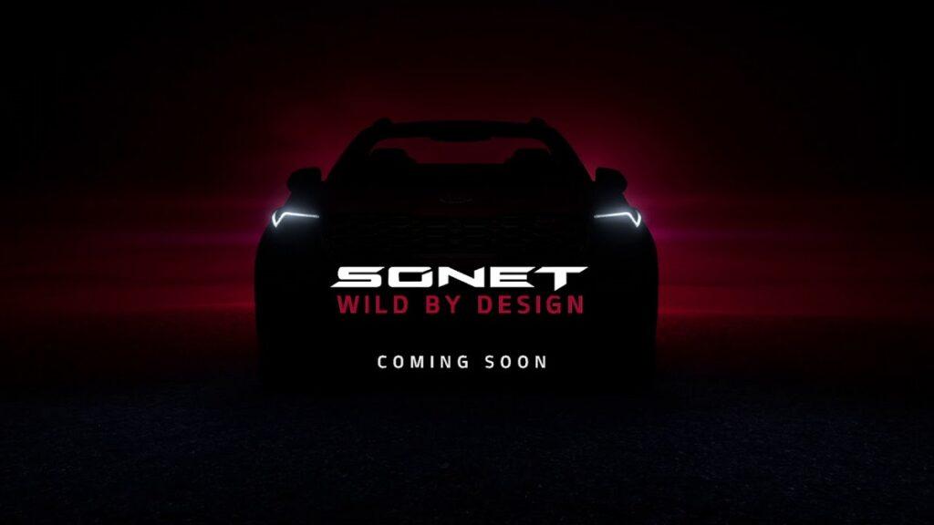 2021 Kia Sonet front