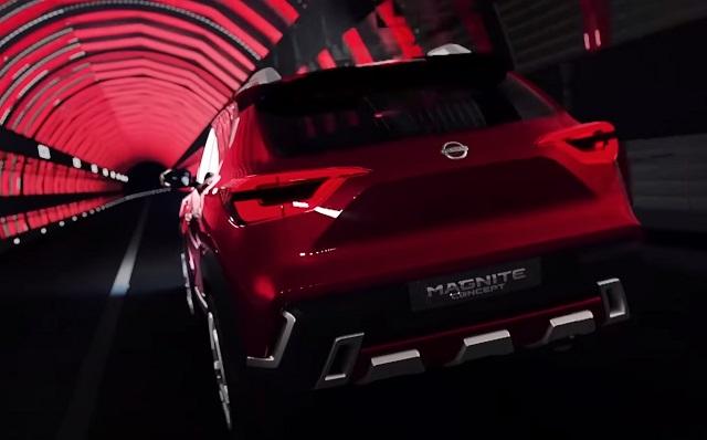 2021 Nissan Magnite rear