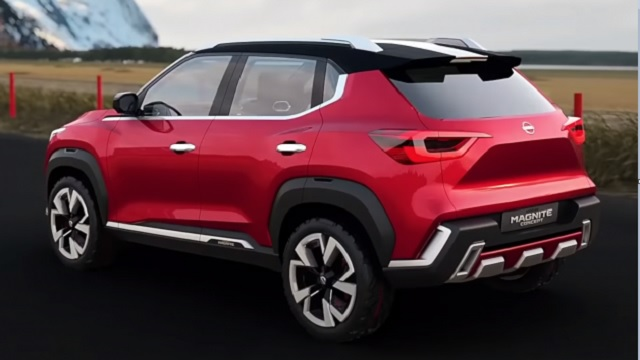 2021 Nissan Magnite side