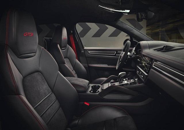 2021 Porsche Cayenne GTS seats