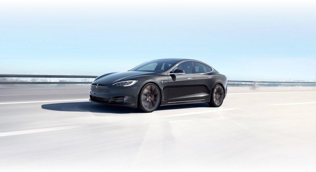 2021 Tesla Model X front