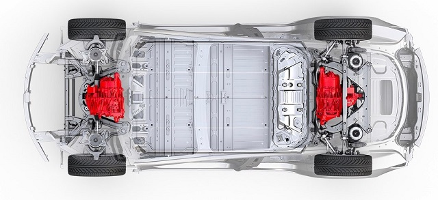 2021 Tesla Model X sistem