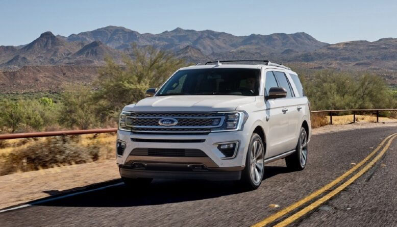 2021 Ford Expedition Max front