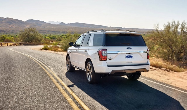 2021 Ford Expedition Max rear