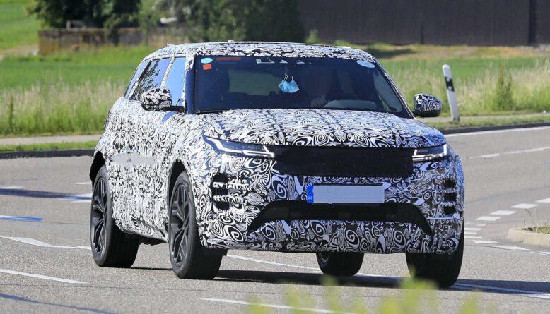 2021 Land Rover Range Rover Evoque front
