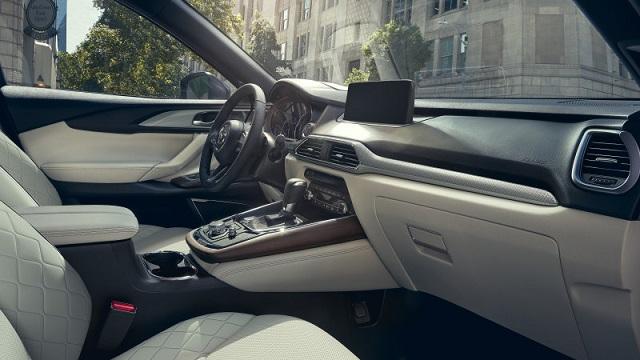 2021 Mazda CX-5 Carbon Edition cabin
