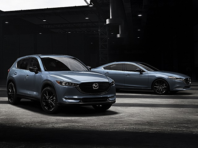 2021 Mazda CX-5 Carbon Edition front