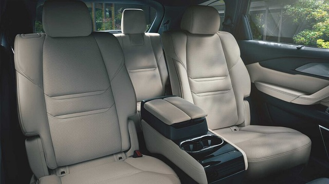 2021 Mazda CX-5 Carbon Edition seats
