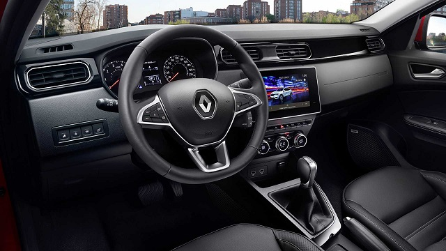2021 Renault Arkana cabin