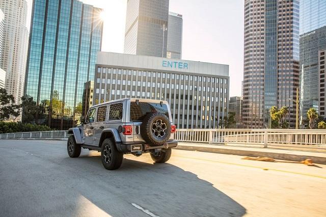 2021 Jeep Wrangler 4xe rear