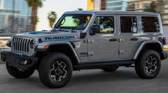 2021 Jeep Wrangler 4xe side