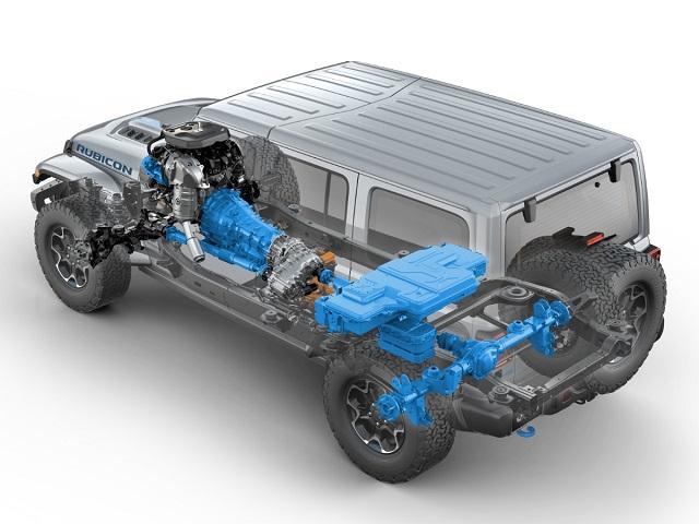 2021 Jeep Wrangler 4xe system