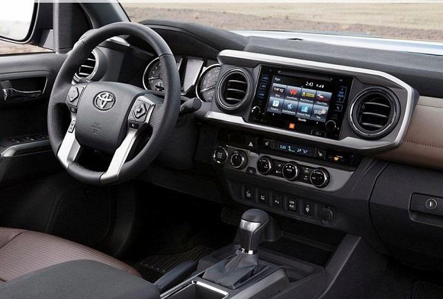 2021 Toyota 4Runner TRD Pro cabin