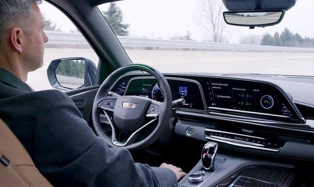 2022 Cadillac Escalade cabin