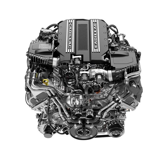 2022 Cadillac Escalade engine