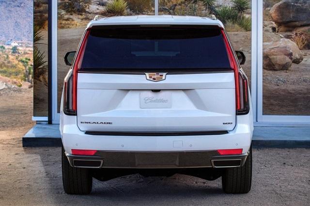 2022 Cadillac Escalade rear