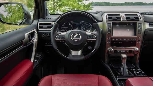 2022 Lexus GX460 cabin look