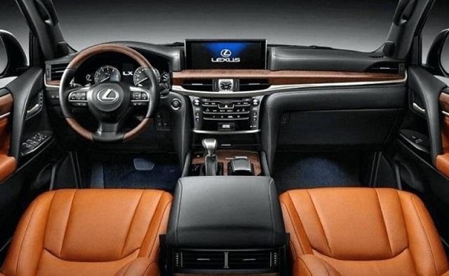 2022 Lexus GX460 cabin