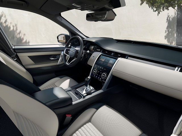 2021 Land Rover Discovery Sport cabin