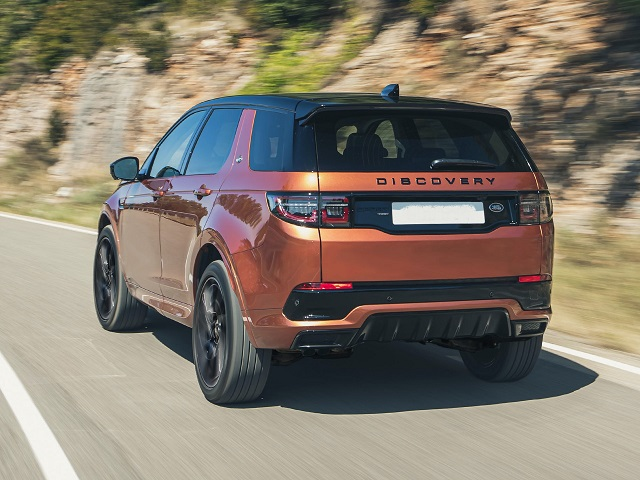 2021 Land Rover Discovery Sport rear