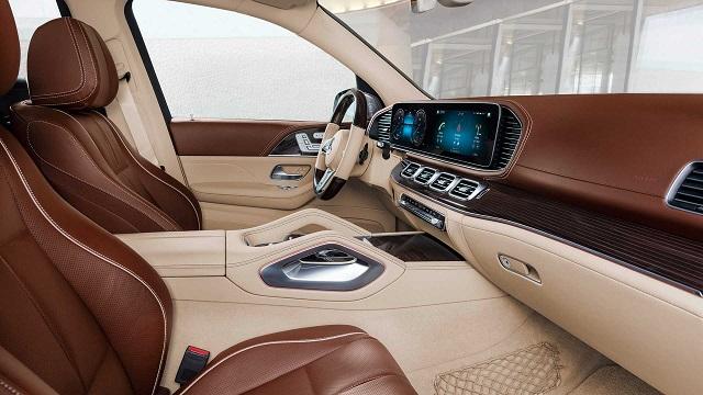 2021 Mercedes-Maybach GLS600 cabin