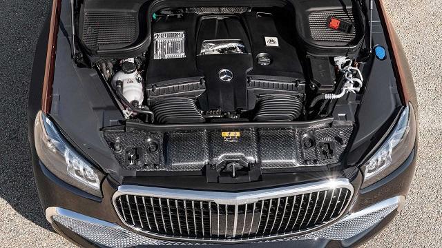 2021 Mercedes-Maybach GLS600 engine