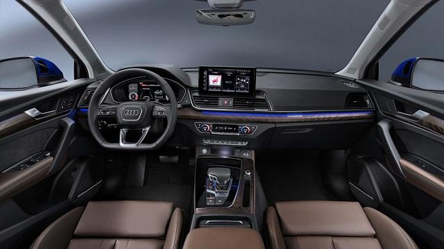 2022 Audi Q5 Sportback cabin