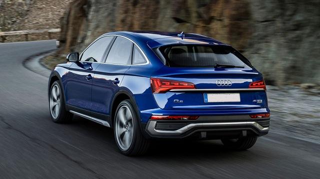2022 Audi Q5 Sportback rear