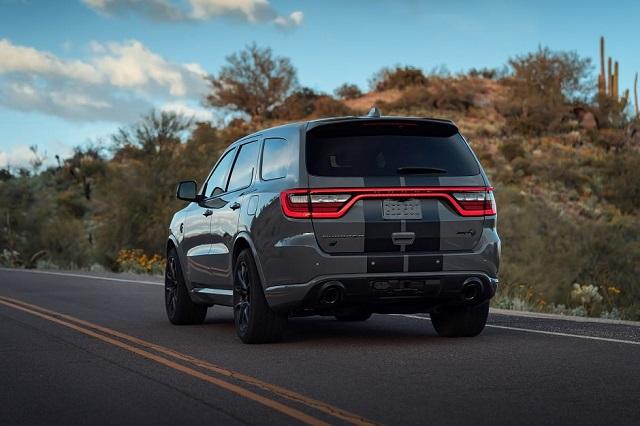2022 Dodge Durango rear