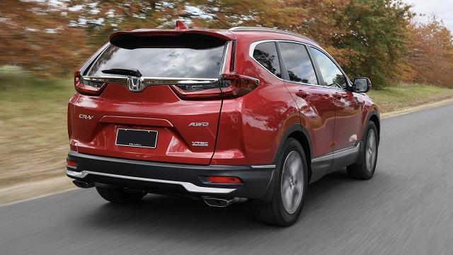 2022 Honda CR-V rear