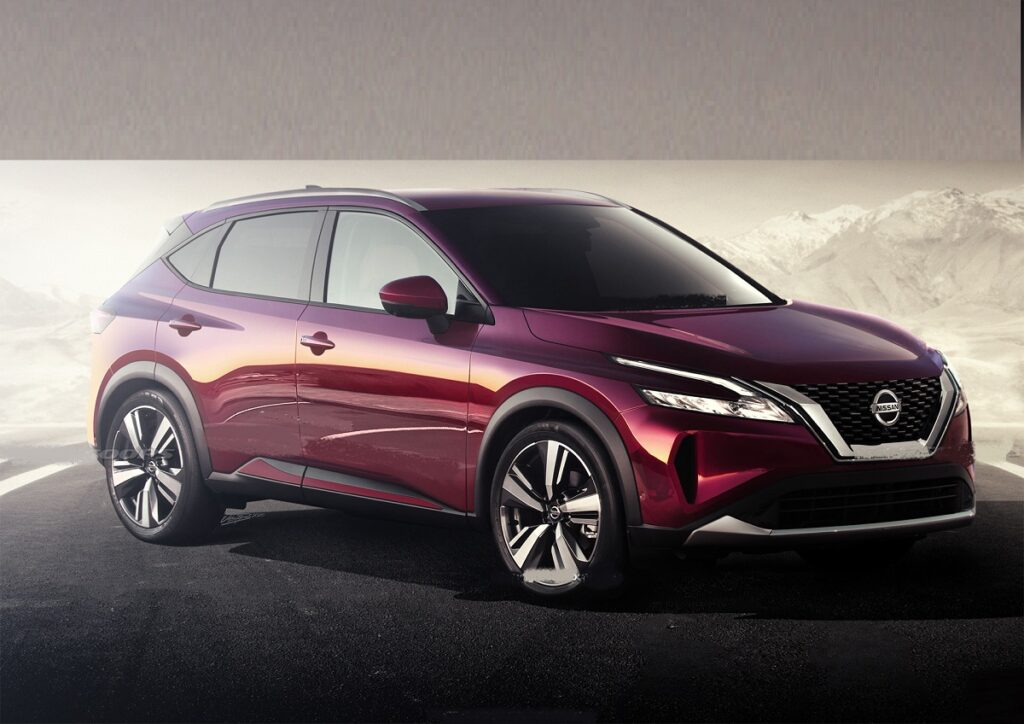 2022 Nissan Rogue Sport front