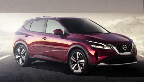 2022 Nissan Rogue Sport front