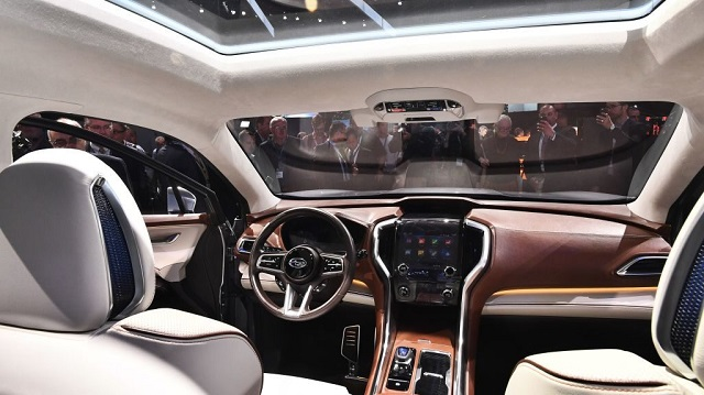 2022 Subaru Ascent cabin