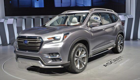 2022 Subaru Ascent front