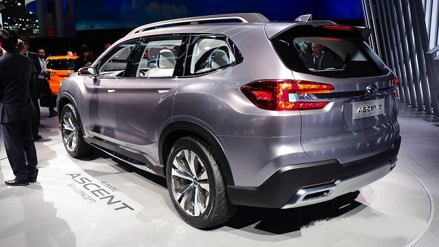 2022 Subaru Ascent rear
