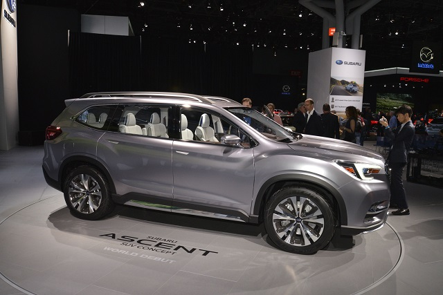 2022 Subaru Ascent side