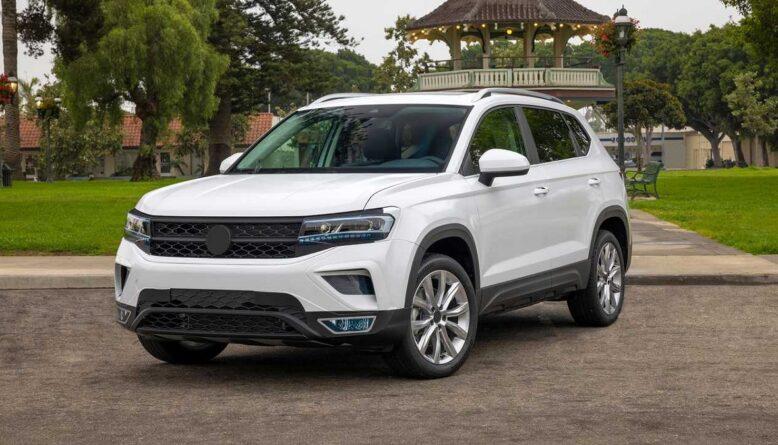 2022 Volkswagen Taos front