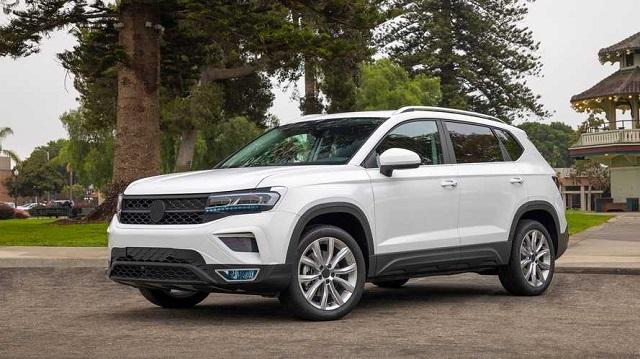 2022 Volkswagen Taos side