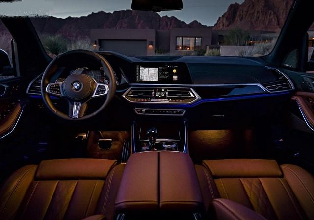 2022 BMW X5 interior look
