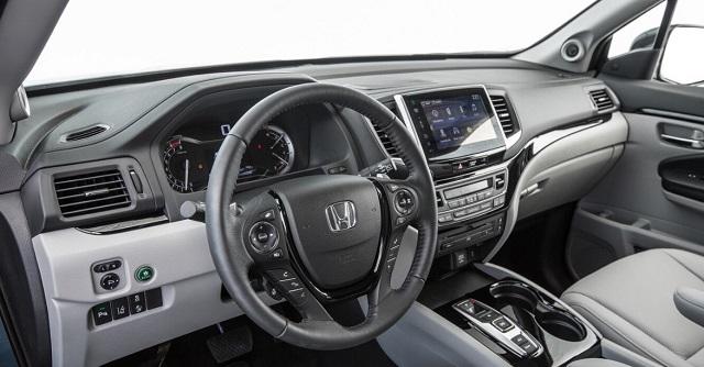 2022 Honda Pilot cabin